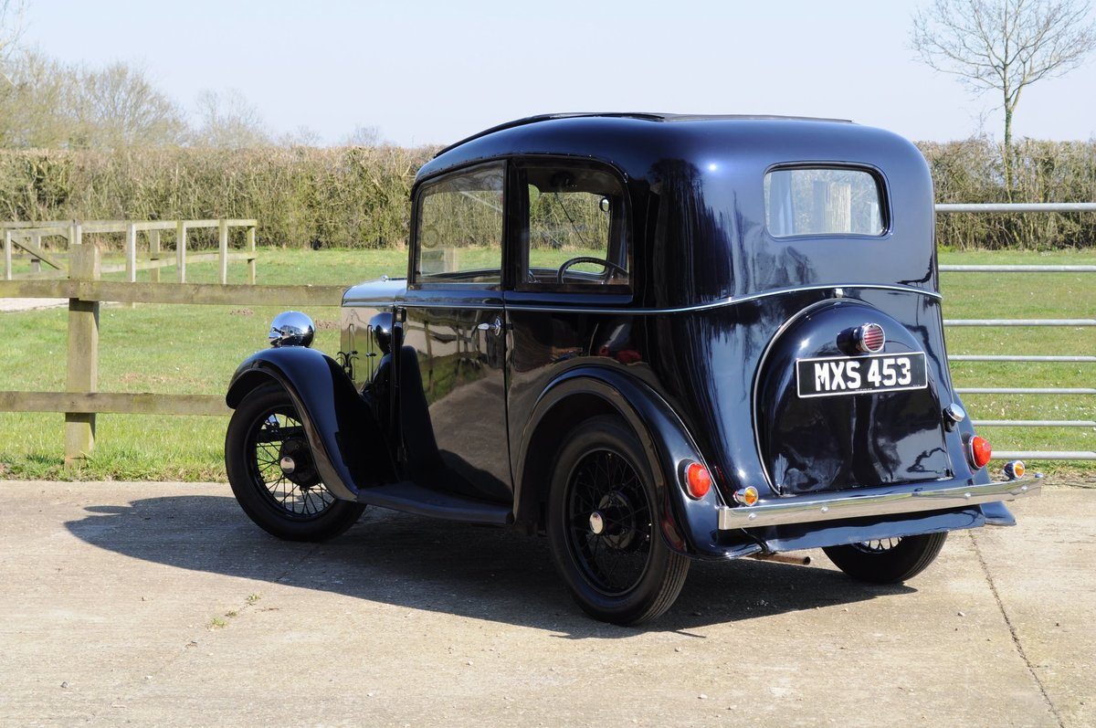 1934 Austin Seven Ruby Vintage Car For Sale (picture 2 of 6)