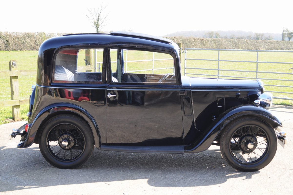 1934 Austin Seven Ruby Vintage Car For Sale (picture 3 of 6)