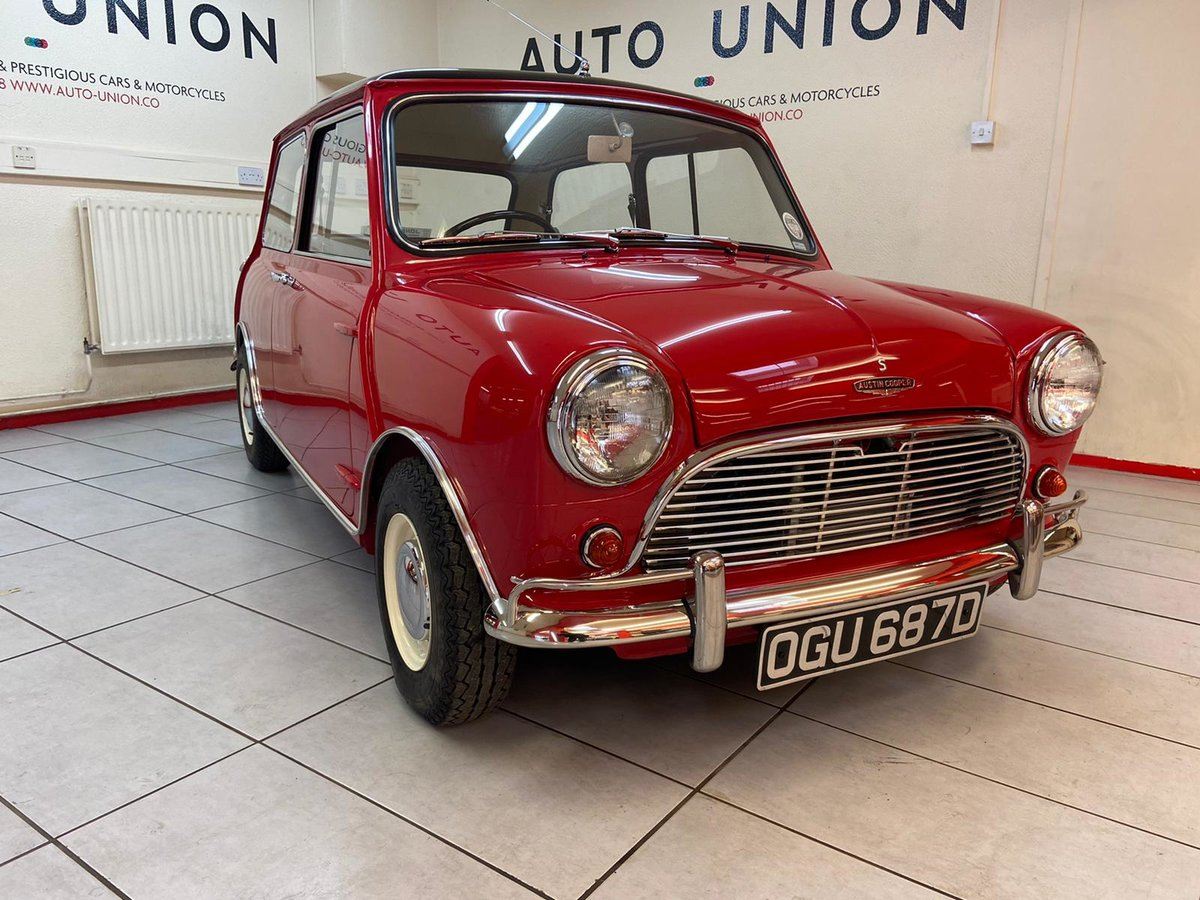 1966 MINI COOPER S MK1 For Sale (picture 1 of 6)