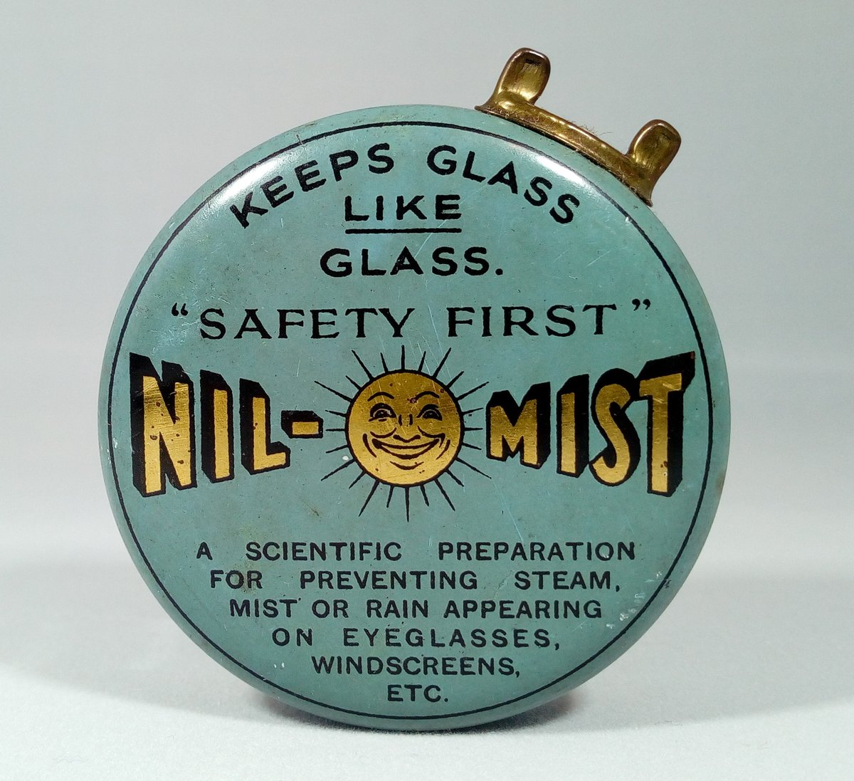 Nil-Mist Glass Cleaner Tin For Sale (picture 1 of 3)