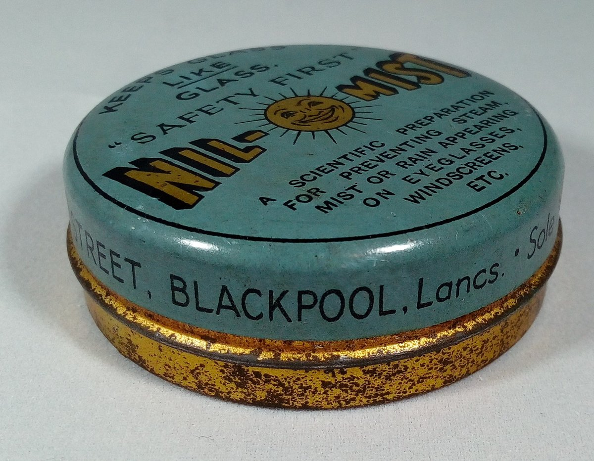 Nil-Mist Glass Cleaner Tin For Sale (picture 2 of 3)