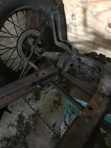 Austin 7 Rolling Chassis, Engine and V5