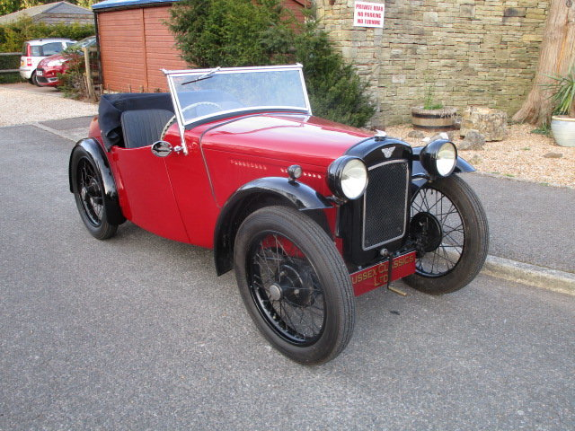1934 Austin 7 Nippy Sports (Free Delivery Within 200 Miles) SOLD (picture 1 of 6)