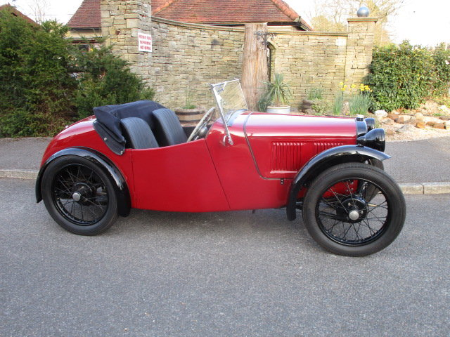 1934 Austin 7 Nippy Sports (Free Delivery Within 200 Miles) SOLD (picture 2 of 6)