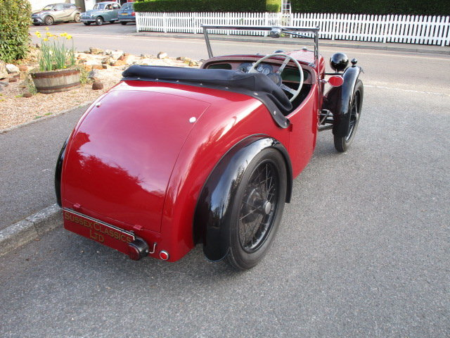 1934 Austin 7 Nippy Sports (Free Delivery Within 200 Miles) SOLD (picture 3 of 6)