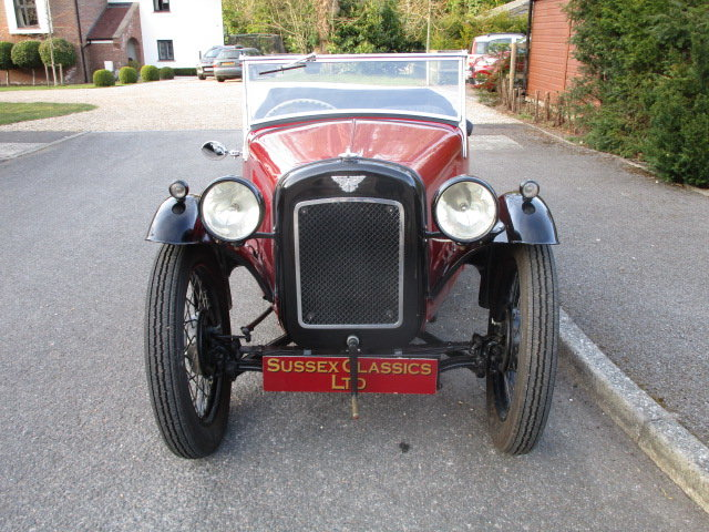 1934 Austin 7 Nippy Sports (Free Delivery Within 200 Miles) SOLD (picture 4 of 6)
