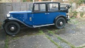 1933 Austin 16/6 Salmons & Sons Tickford Cabriolet