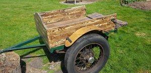 1937 Restored 1930s two wheel Trailer