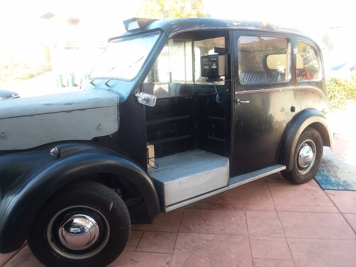 1963 Beardmore Mark 7 London Taxi Cab For Sale (picture 1 of 6)