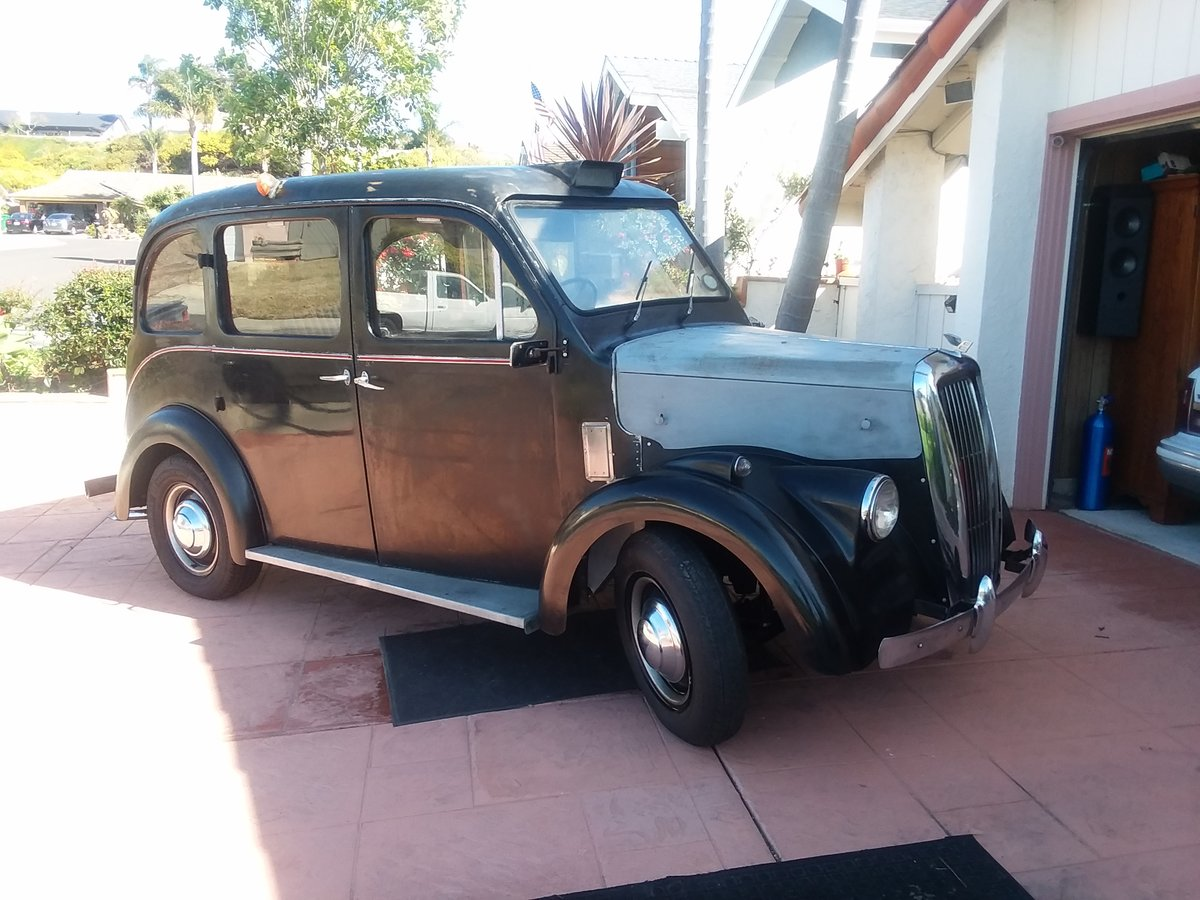1963 Beardmore Mark 7 London Taxi Cab For Sale (picture 2 of 6)