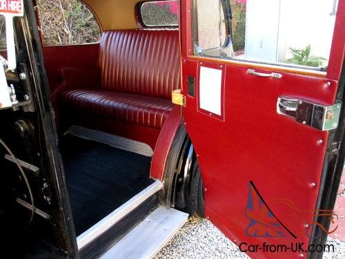 1963 Beardmore Mark 7 London Taxi Cab For Sale (picture 5 of 6)