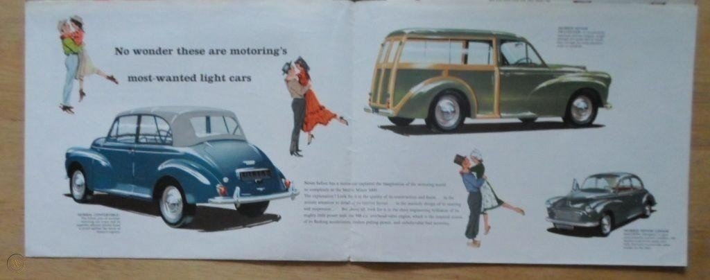 1968 MORRIS/AUSTIN WANTED ~ ANYTHING CONSIDERED ~ COLLECTED TODAY For Sale (picture 1 of 2)