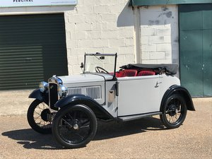 1934 Austin 7 Opal Cabriolet, chrome radiator, restored, SOLD