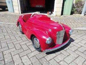 Austin j40 pedal car Red