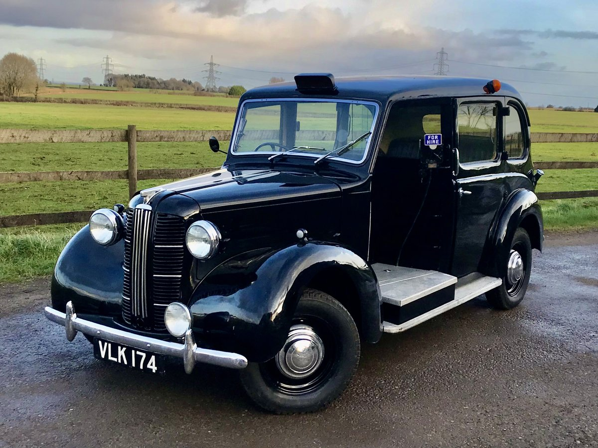 1958 Austin fx3 taxi For Sale (picture 1 of 6)