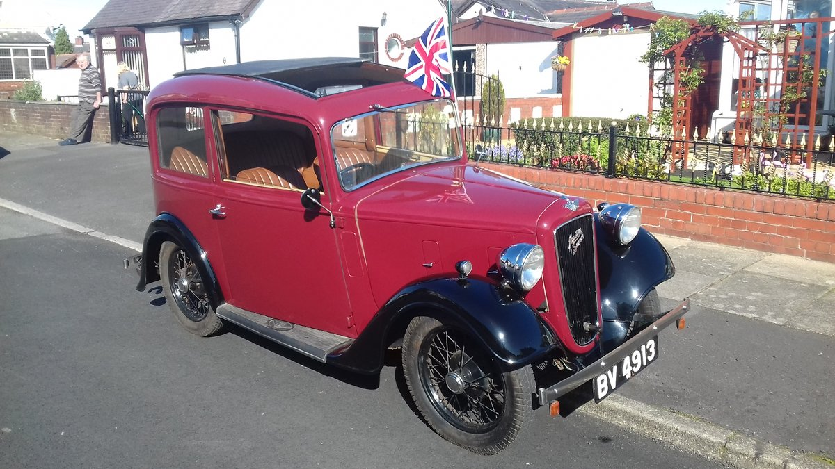 1935 Austin 7 Ruby NOW SOLD thankyou. SOLD (picture 1 of 6)