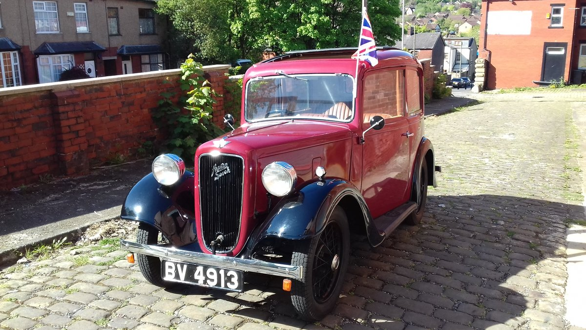 1935 Austin 7 Ruby NOW SOLD thankyou. SOLD (picture 2 of 6)