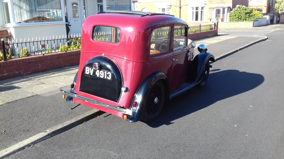 1935 Austin 7 Ruby NOW SOLD thankyou. SOLD (picture 3 of 6)