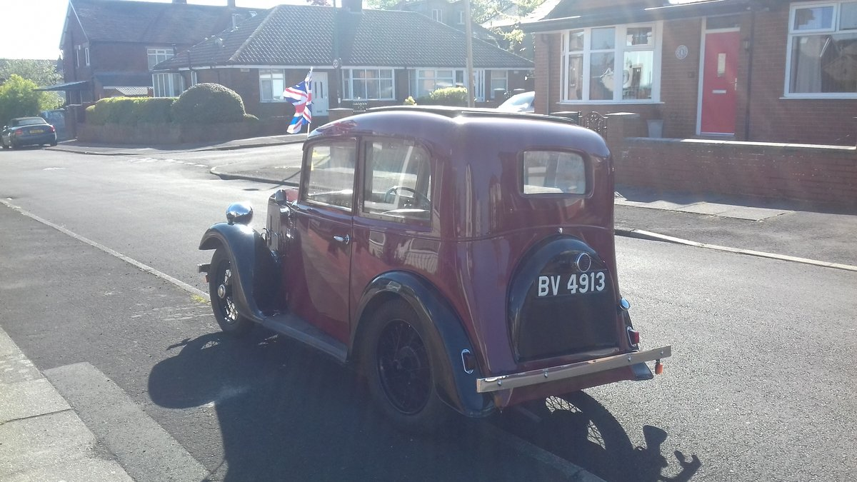 1935 Austin 7 Ruby NOW SOLD thankyou. SOLD (picture 6 of 6)