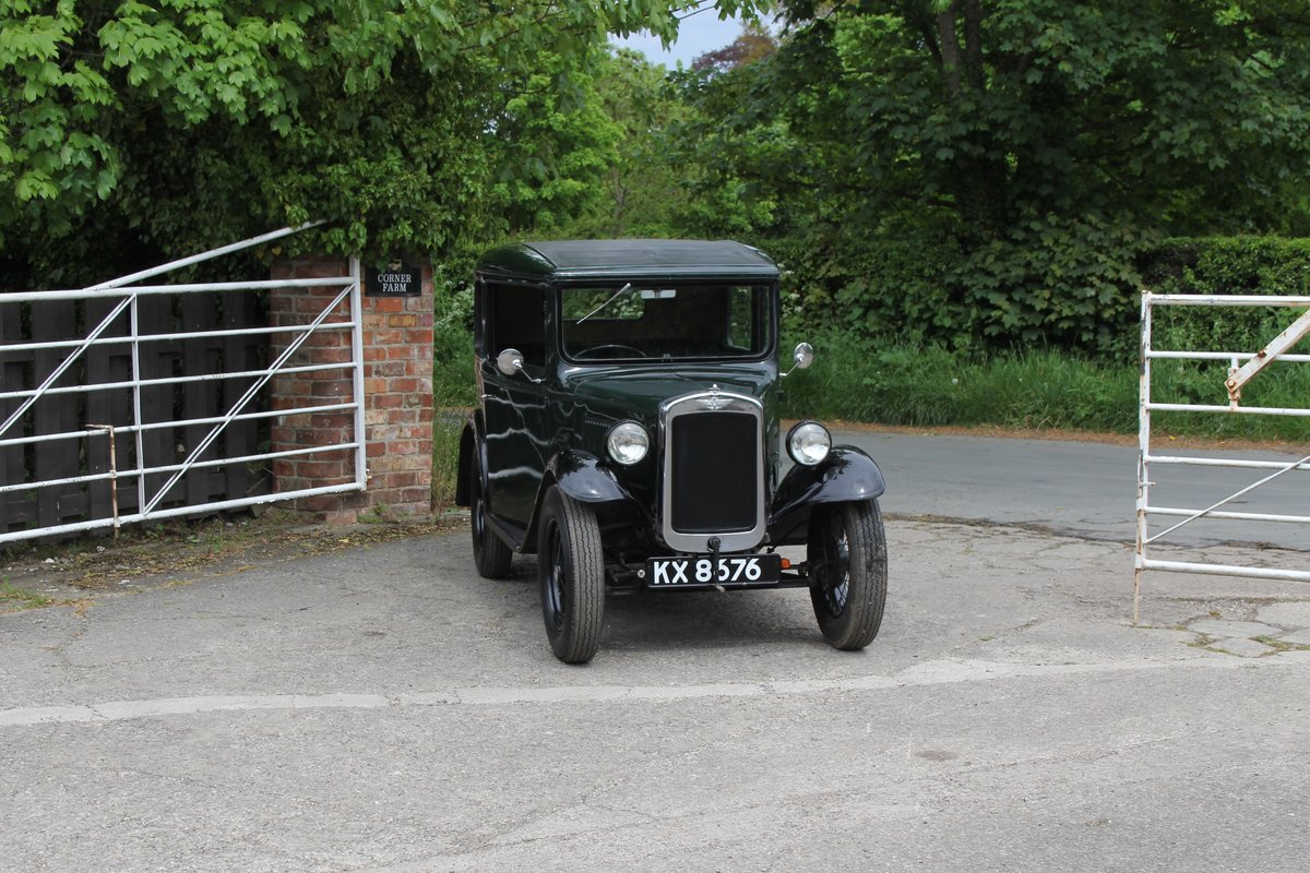 1932 Austin 7 RN Saloon, Great usable Baby Austin SOLD (picture 1 of 17)