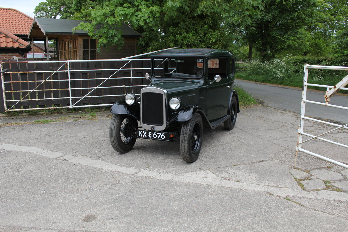 1932 Austin 7 RN Saloon, Great usable Baby Austin SOLD (picture 3 of 17)