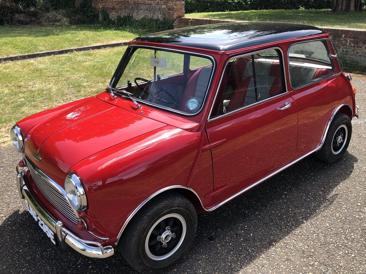 1967 Mini Cooper S Mk1 1275 For Sale (picture 1 of 6)