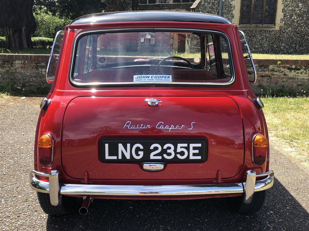 1967 Mini Cooper S Mk1 1275 For Sale (picture 3 of 6)