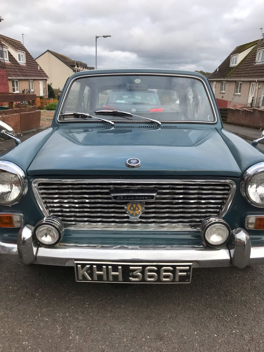 1967 AUSTIN 1100 CLASSIC CAR MOT AND TAX EXEMPT For Sale (picture 1 of 6)