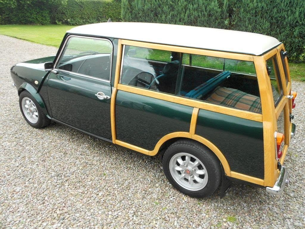1980 AUSTIN MORRIS MINI CLUBMAN ESTATE 'WOODIE For Sale (picture 1 of 6)