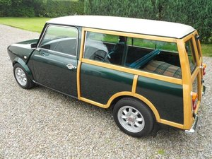 1980 AUSTIN MORRIS MINI CLUBMAN ESTATE 'WOODIE SOLD