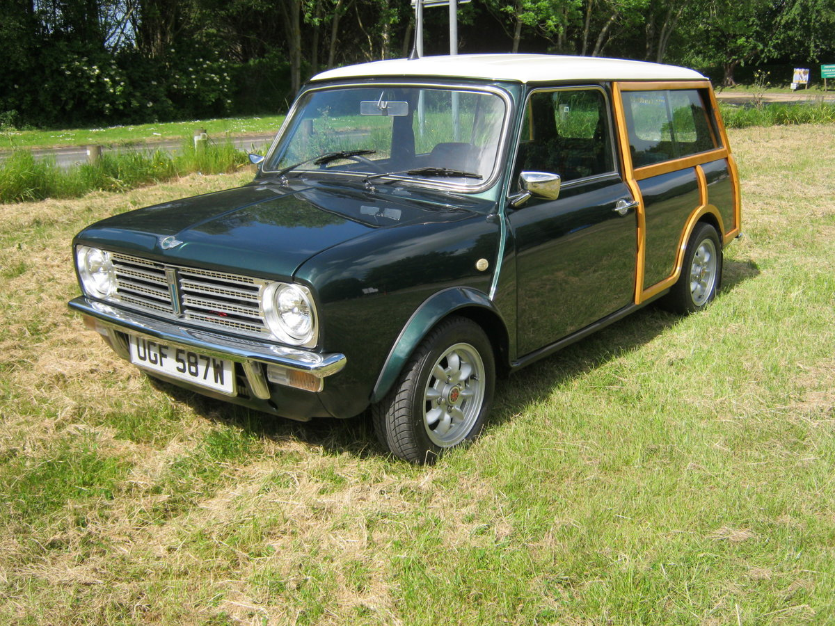 1980 AUSTIN MORRIS MINI CLUBMAN ESTATE 'WOODIE For Sale (picture 2 of 6)