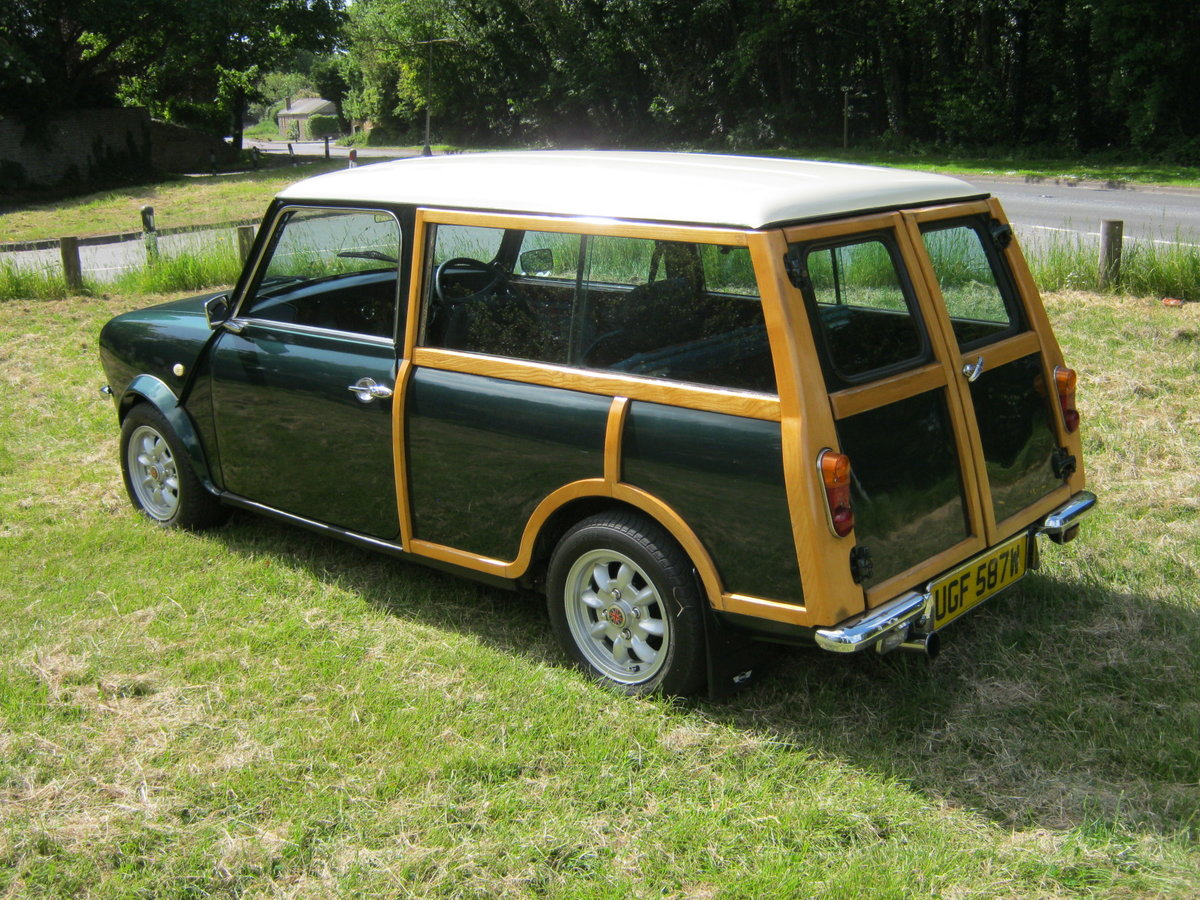 1980 AUSTIN MORRIS MINI CLUBMAN ESTATE 'WOODIE For Sale (picture 3 of 6)