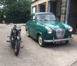austin A30 seven with 948cc engine and discs