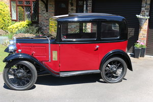 1933 Austin 7 RP Box Saloon Deluxe 95% Project