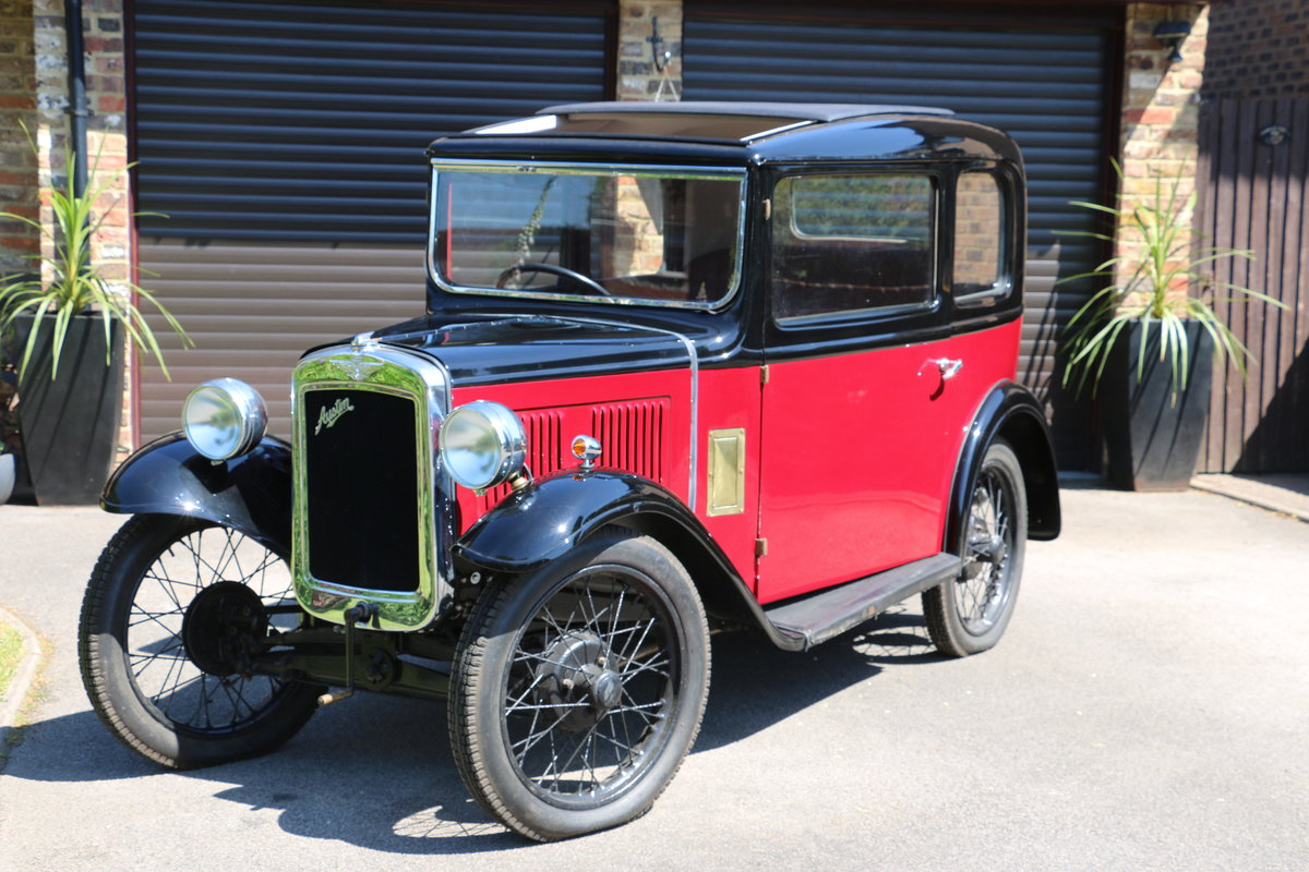 1933 Austin 7 RP Box Saloon Deluxe 95% Project For Sale (picture 2 of 6)
