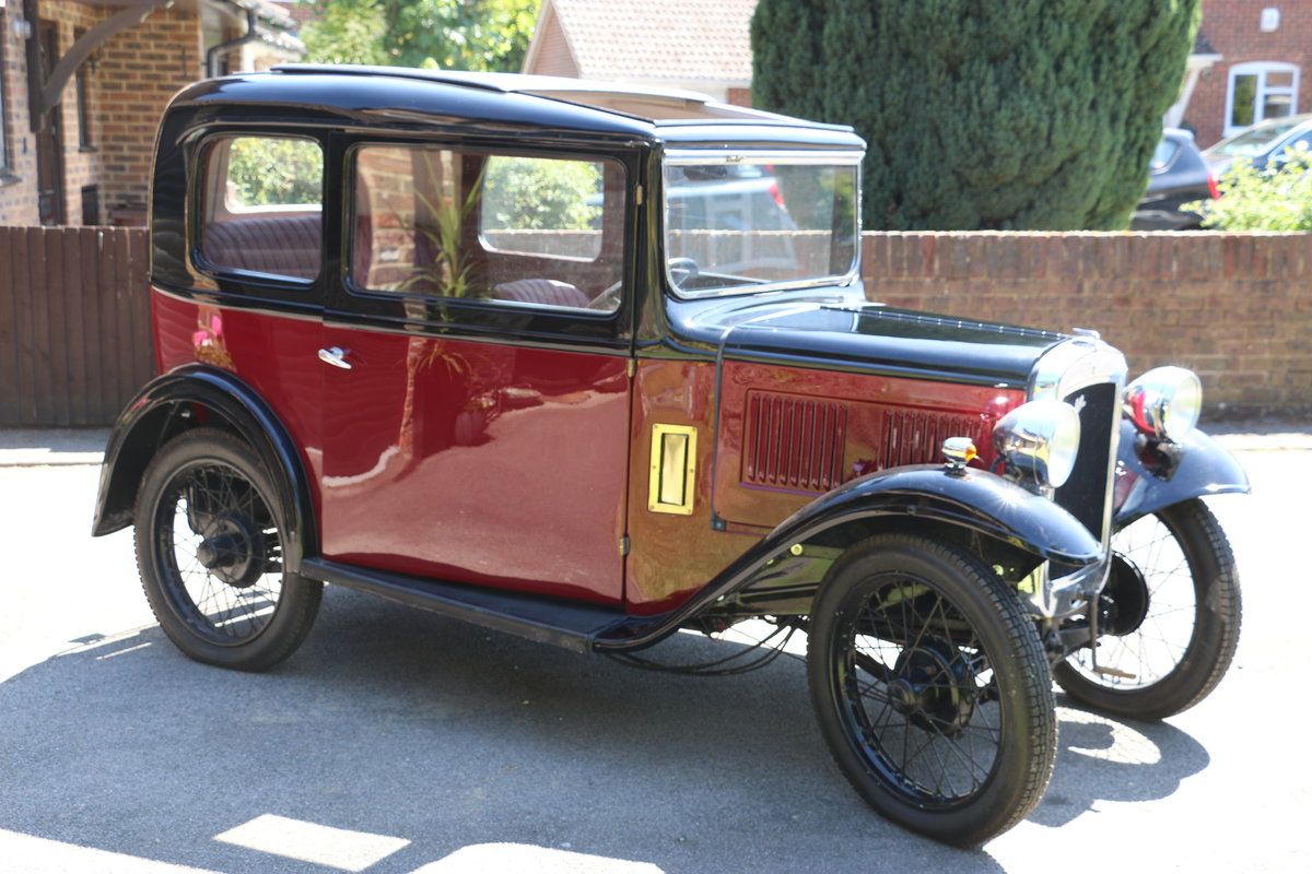 1933 Austin 7 RP Box Saloon Deluxe 95% Project For Sale (picture 6 of 6)