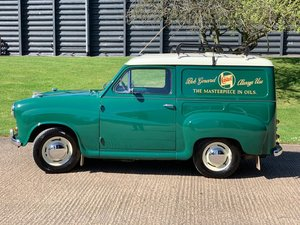 Speedwell Inspired Austin A35 racing team van