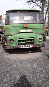 1960 austin 5 ton ffk for restoration