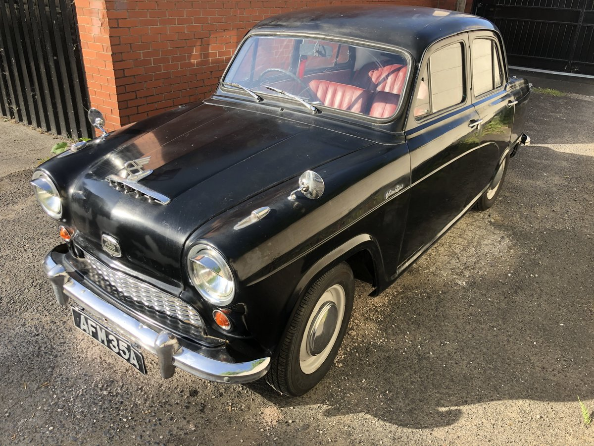 1955 Austin a40 cambridge rare classic a35 plate saloon For Sale (picture 1 of 6)