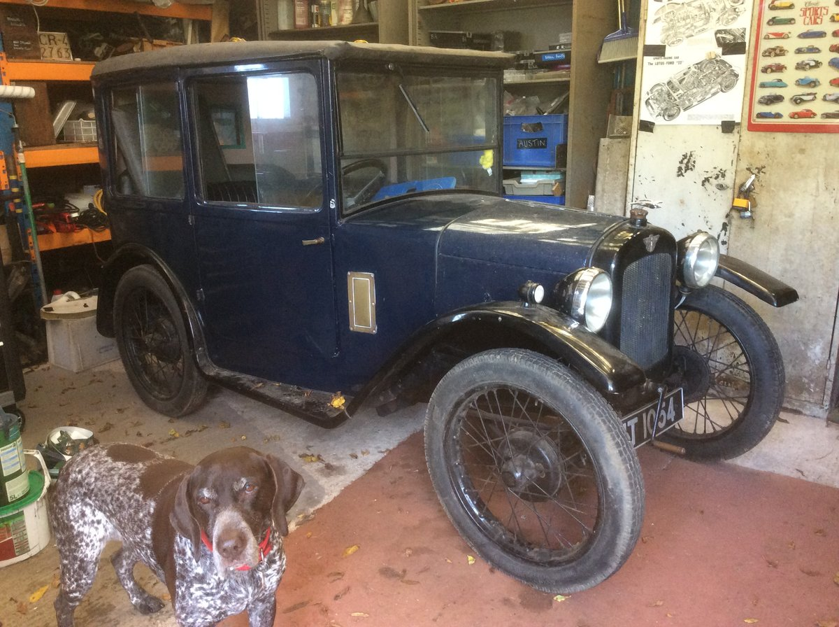 """1928 Austin Seven """" Top Hat"""" in Barn Find conditon For Sale (picture 1 of 5)"""
