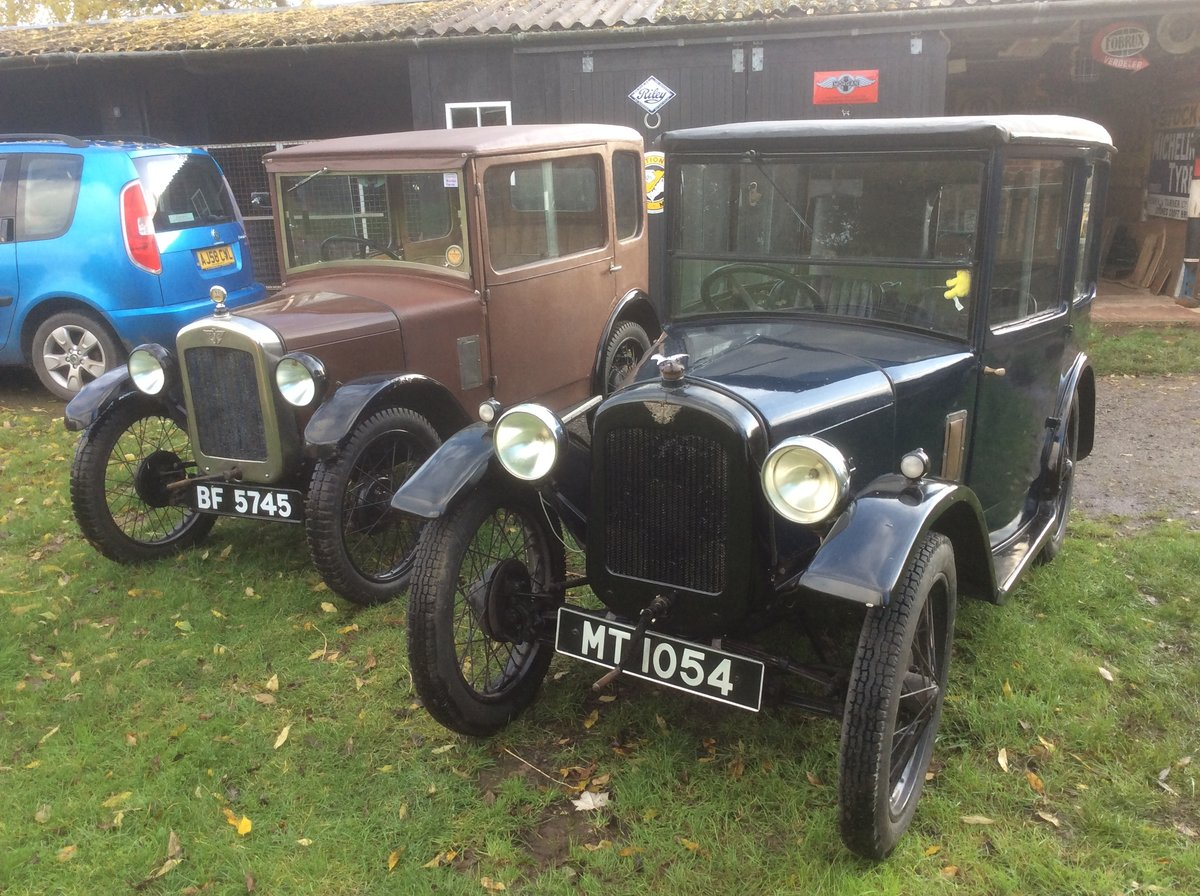 """1928 Austin Seven """" Top Hat"""" in Barn Find conditon For Sale (picture 4 of 5)"""