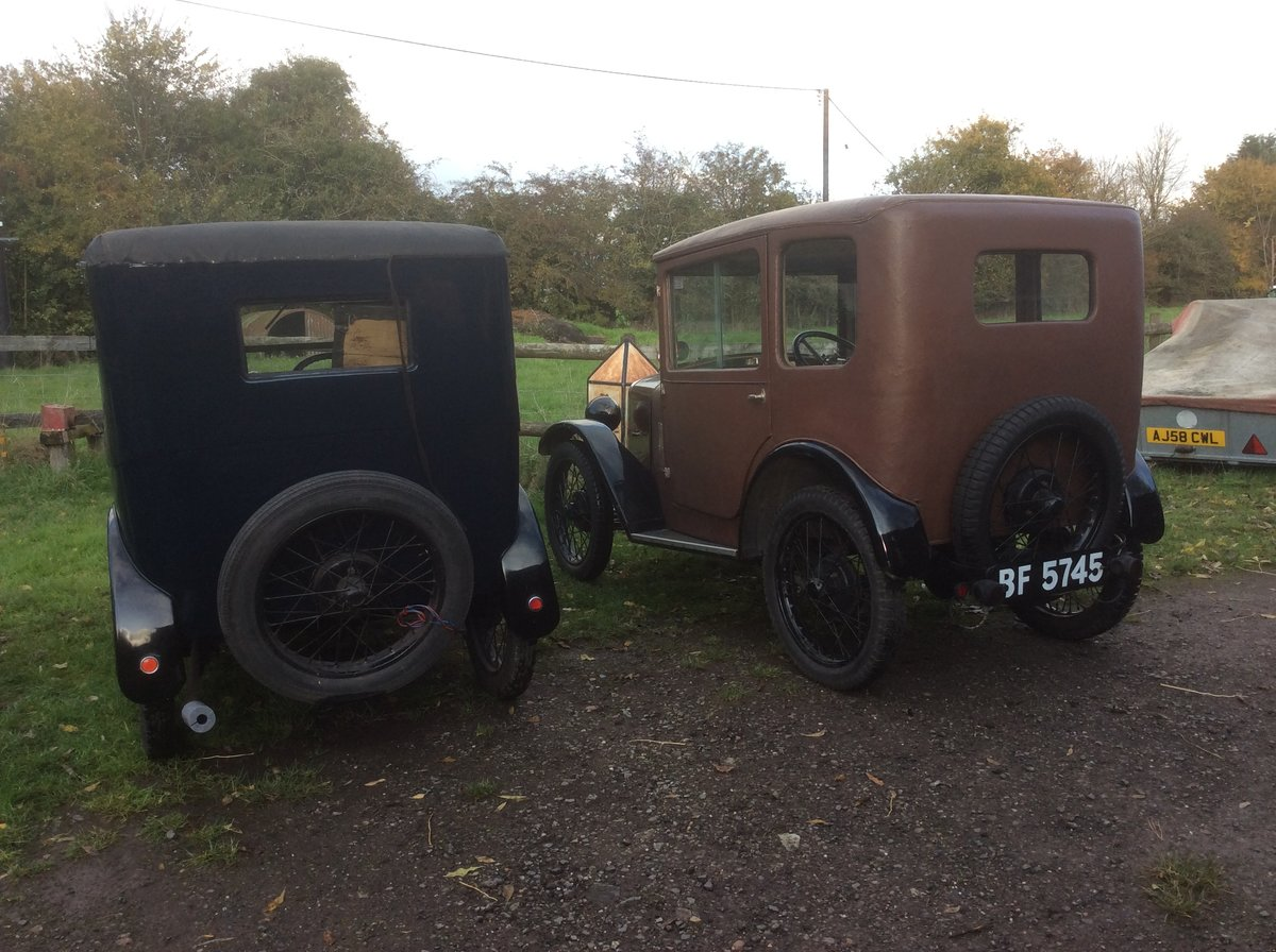 """1928 Austin Seven """" Top Hat"""" in Barn Find conditon For Sale (picture 5 of 5)"""