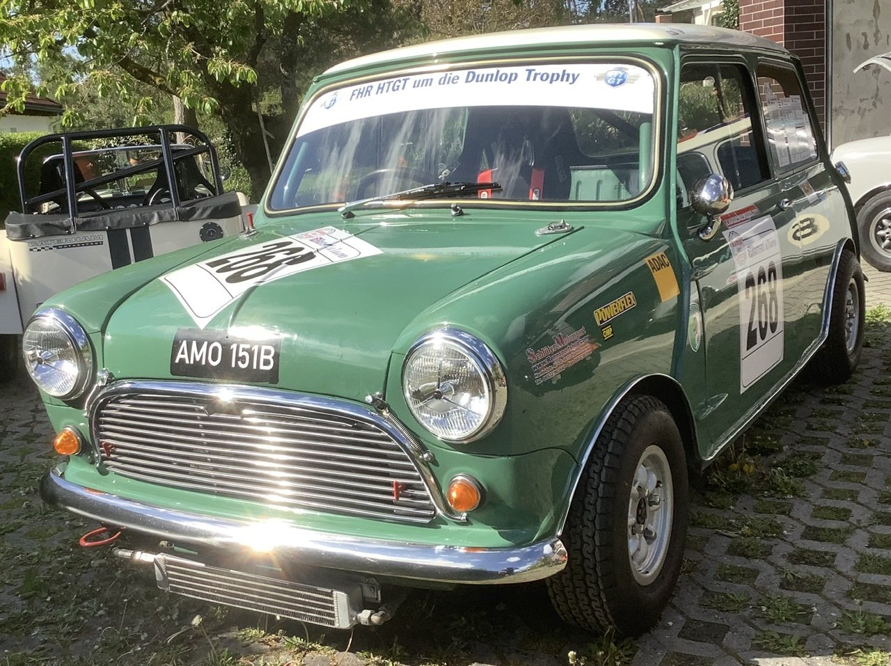 1964 Austin Mini Cooper S 1071 racer FREE DELIVERY SOLD (picture 1 of 6)