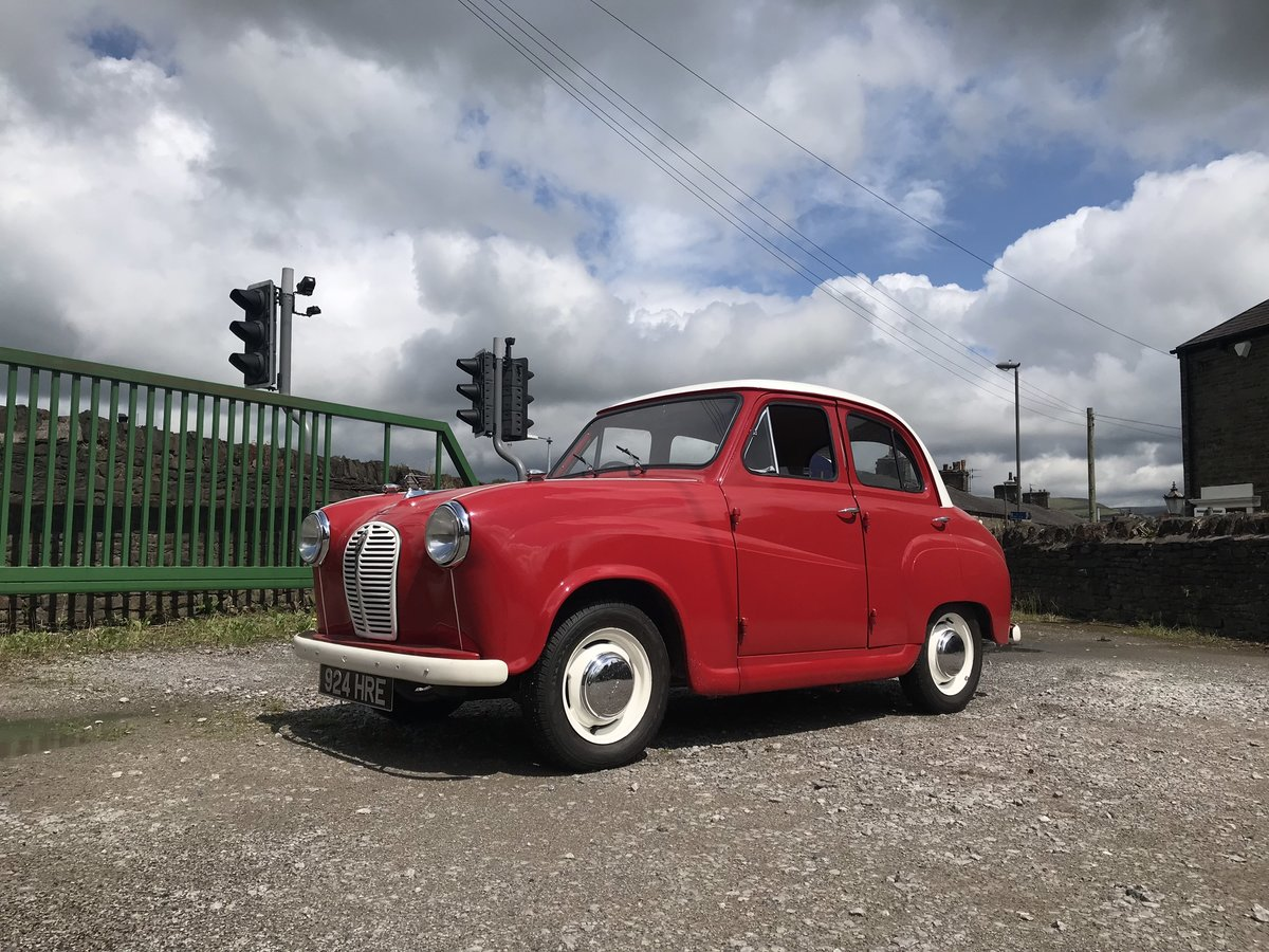 1955 Austin A30 Four-Door Saloon Classic Car For Sale (picture 1 of 6)