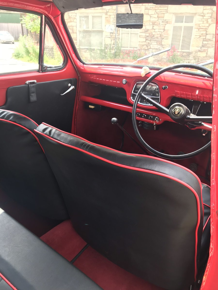 1955 Austin A30 Four-Door Saloon Classic Car For Sale (picture 5 of 6)