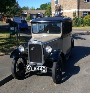 1932 Austin 7 RN Saloon For Sale