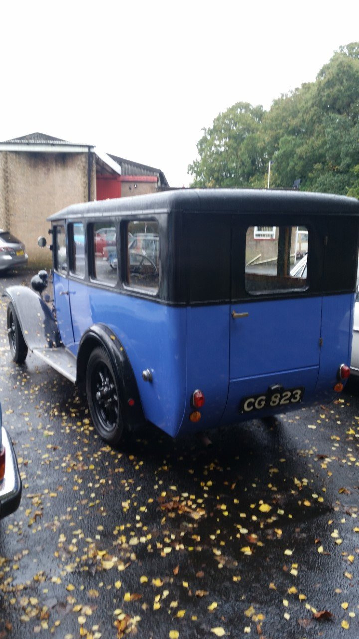 1932 Austin 12/4 rebodied in style of wwii ambulance. For Sale (picture 1 of 6)