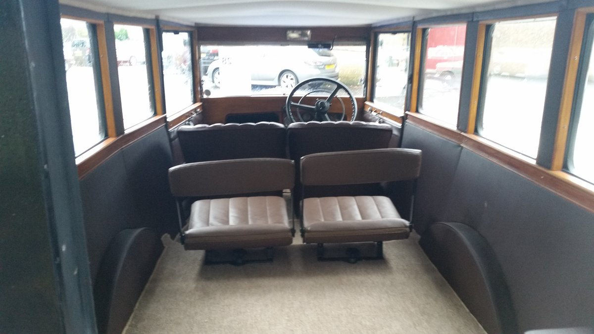 1932 Austin 12/4 rebodied in style of wwii ambulance. For Sale (picture 4 of 6)