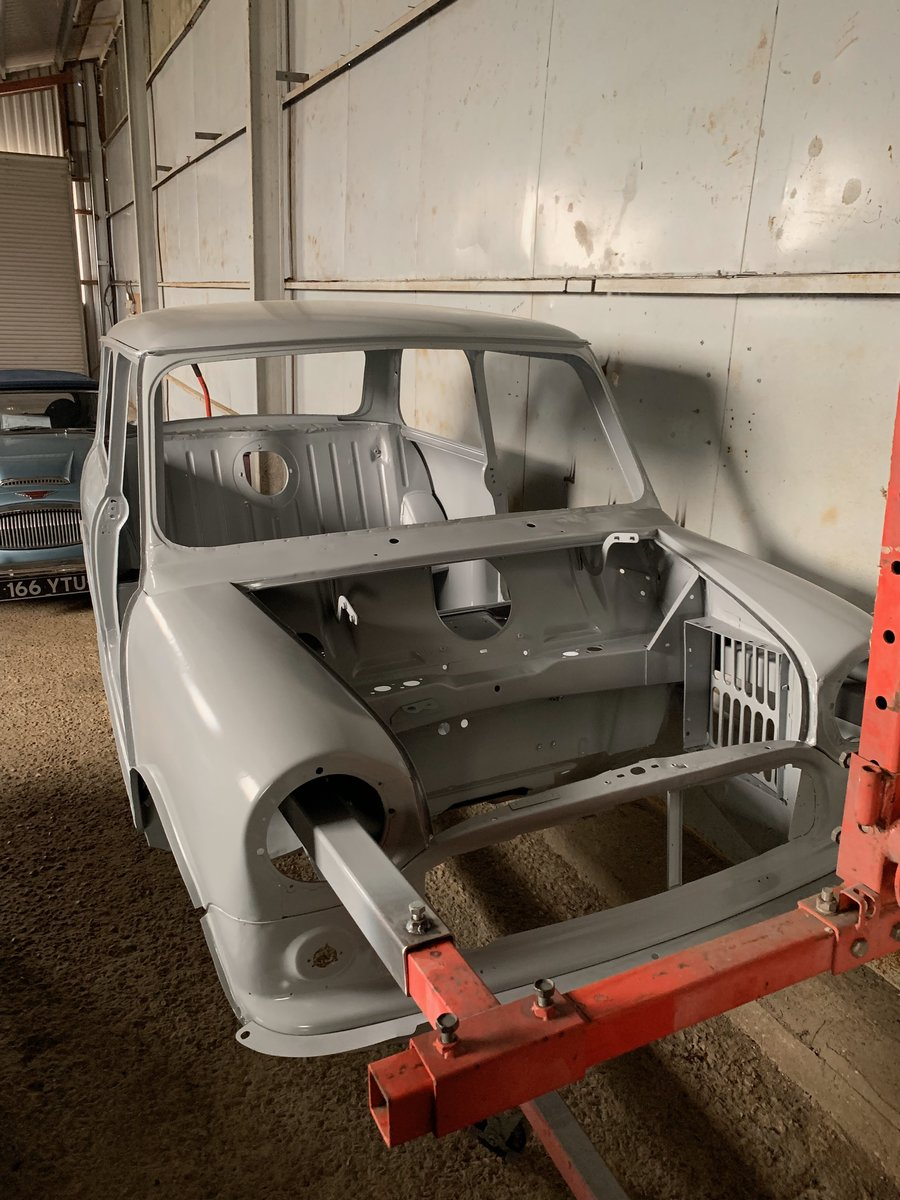 1960 Austin Mini Seven project - ready for paint SOLD (picture 3 of 6)