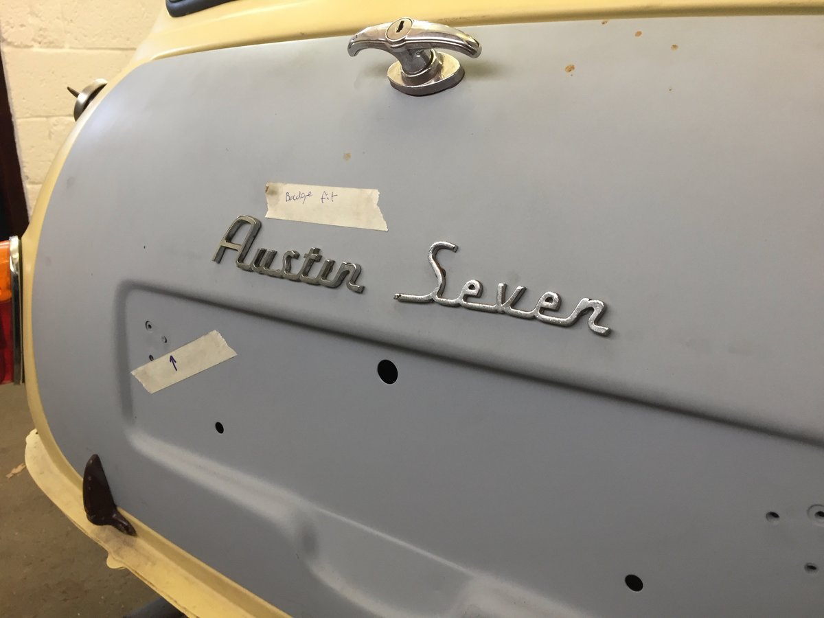 1960 Austin Mini Seven project - ready for paint SOLD (picture 5 of 6)